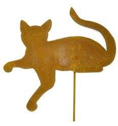 Edelrost katzenbaby tomkatz und maustiere metallmichl aus for Rostige gartenstecker