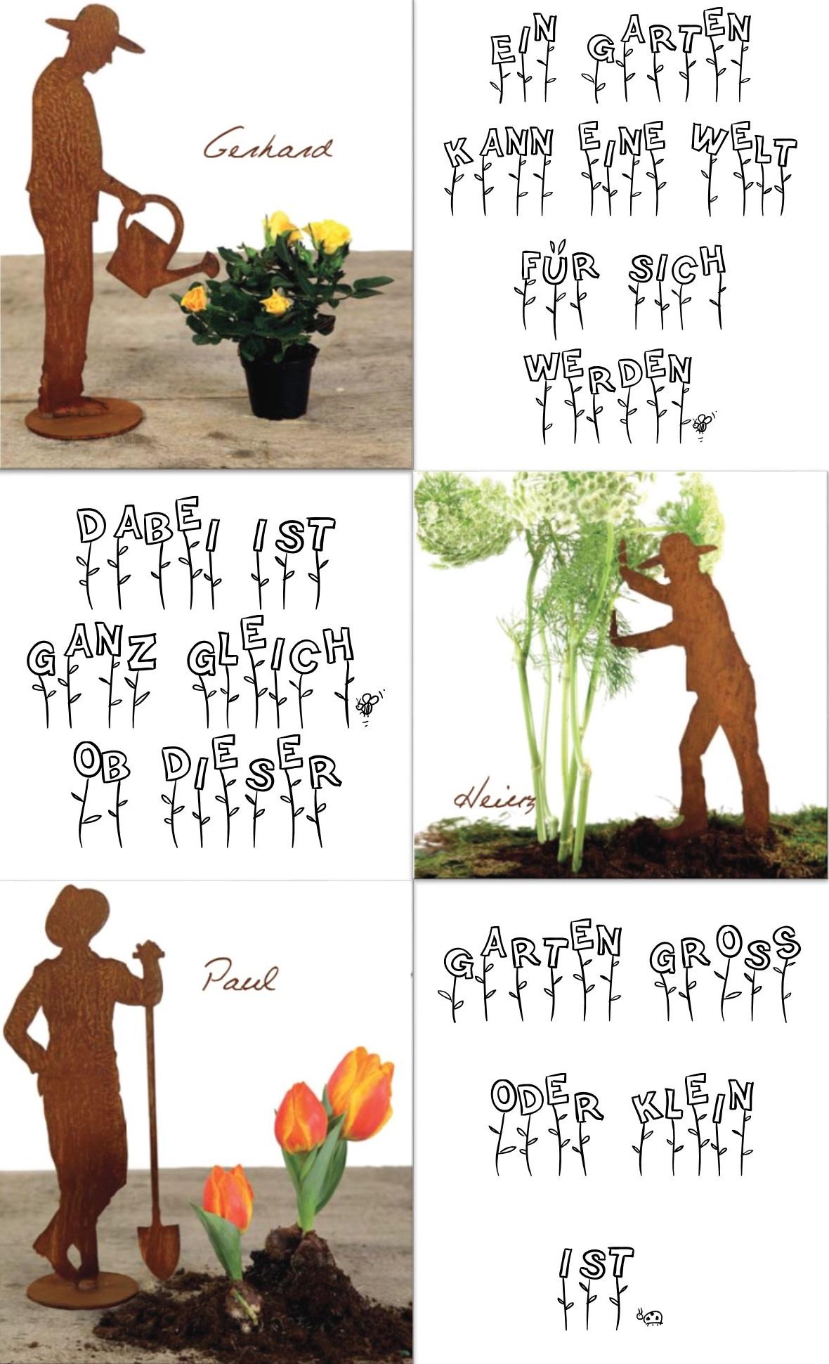 """Ein Garten kann eine Welt für sich werden, dabei ist ganz gleich, ob dieser Garten groß oder klein ist. """"Hugo von Hoffmannthal"""""""