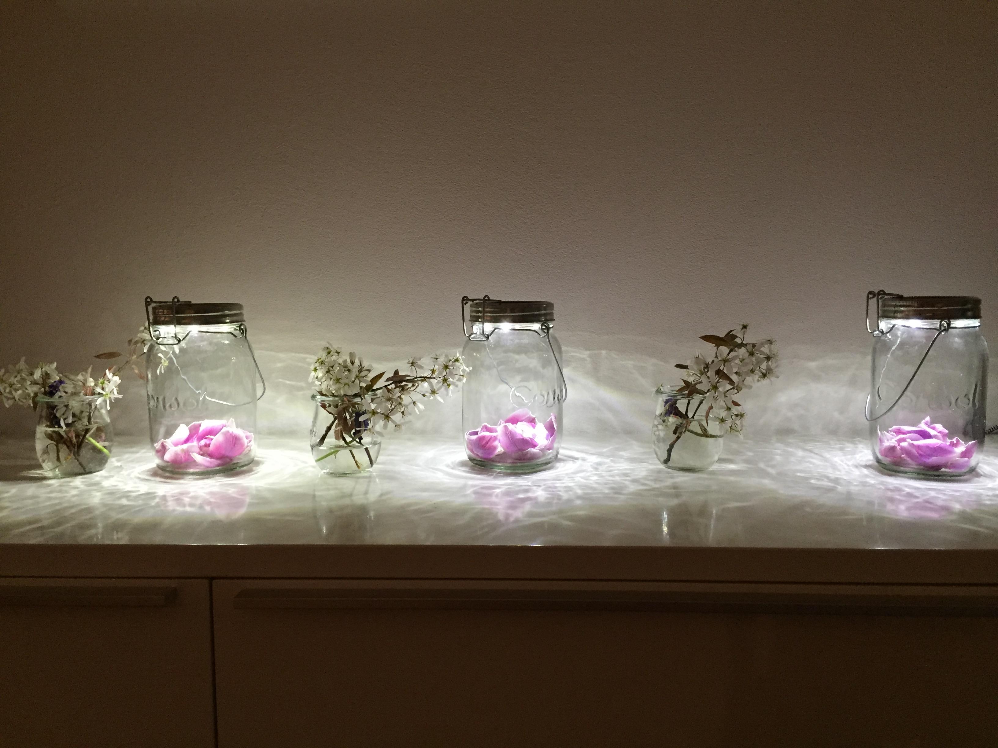 Original sonnenglas die solarleuchte mit 1000 und 1 deko m glichkeiten metallmichl - Glaser dekorieren mit sand ...