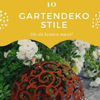 10 schöne Gartendeko Stilrichtungen