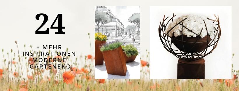 Gartendeko Modern