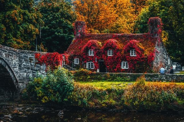 Cottage Gartendeko im englischen Landhausstil