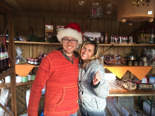 Weihnachtsmarkt Stand in Betzigau nähe Kempten