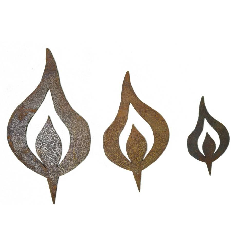 edelrost kerzen flamme mit spie kerze selber machen ohne wachs. Black Bedroom Furniture Sets. Home Design Ideas