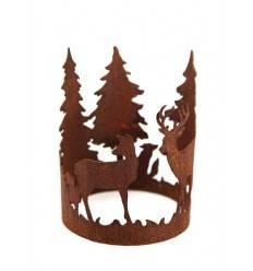 """""""Forest"""" Ring mit Waldszene Durchmesser 15cm"""