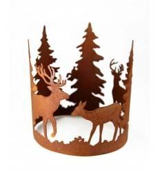 """""""Forest"""" Ring mit Waldszene Durchmesser 20cm"""