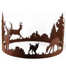 Forest Ring mit Waldszene Durchmesser 40 cm