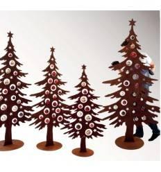 Rostiger Tannenbaum.Weihnachtsbaum Metall Mit Rostpatina Kaufen Metallmichl