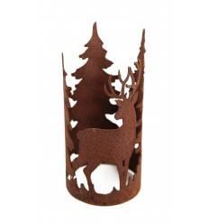 """""""Forest"""" Ring mit Waldszene Durchmesser 10cm"""