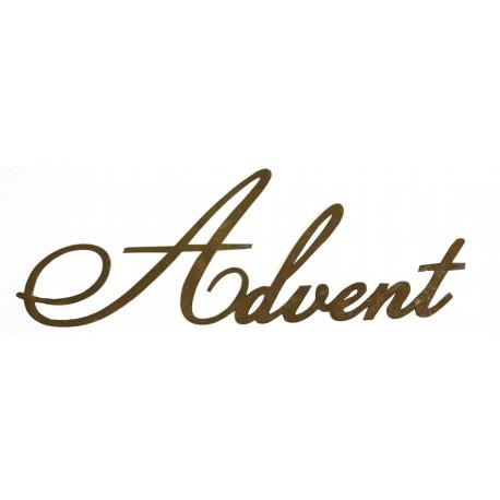 Advent Schriftzug aus Metall 50cm breit (groß) auch für Draußen