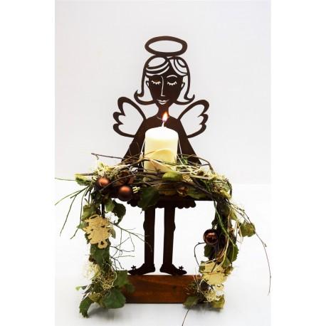 edelrost engelchen carla mit tisch. Black Bedroom Furniture Sets. Home Design Ideas