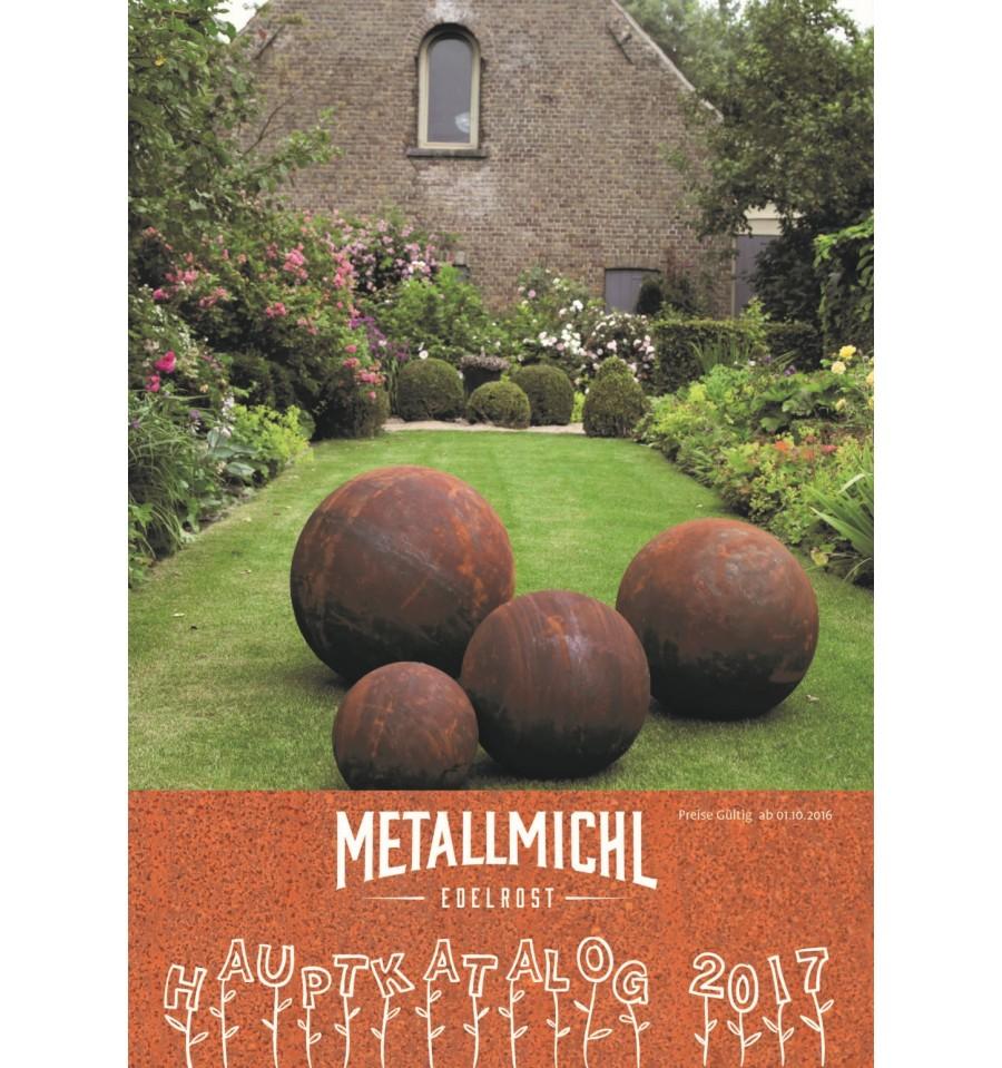 Jetzt gratis bestellen metallmichl 39 s edelrost katalog for Katalog gartendeko