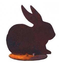 Mini Kaninchen als Osterdeko