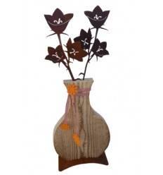 Blumenvase -Glockenblume-