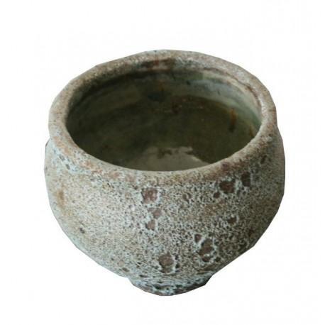 Keramik Topf Patricia in türkis