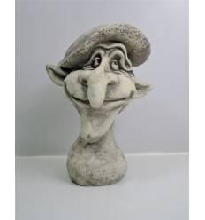 "Steinguss Magic Mushroom ""LEONARDO"" 30 cm hoch"
