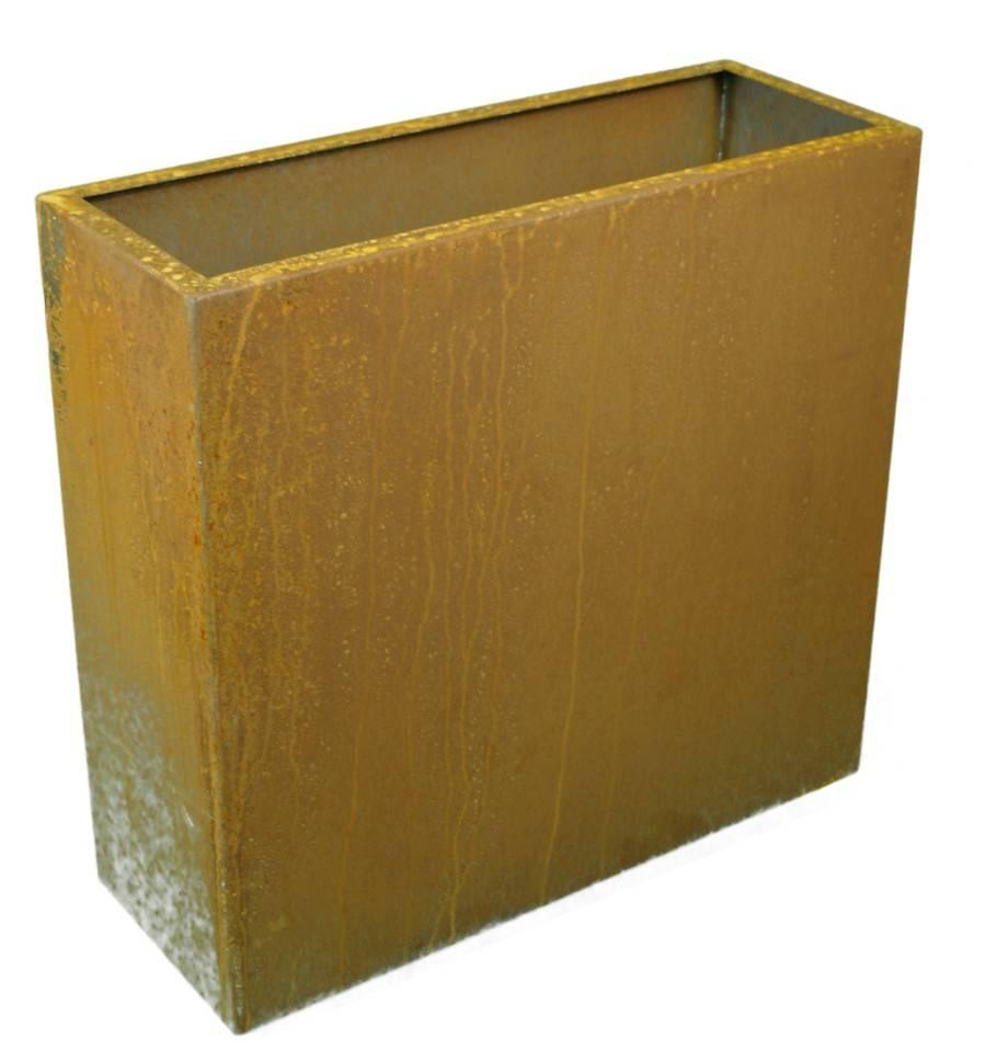 rost hochbeet raumteiler pflanzbeet rechteckig breite 75 cm h he 80 cm. Black Bedroom Furniture Sets. Home Design Ideas