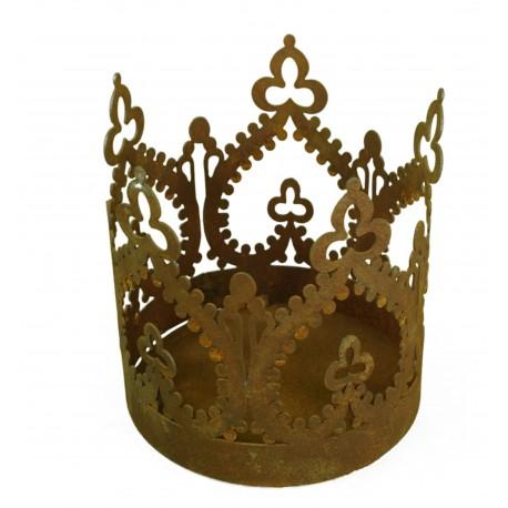 """""""Crown"""" Krone zum Stellen d 25cm, H 15cm,"""