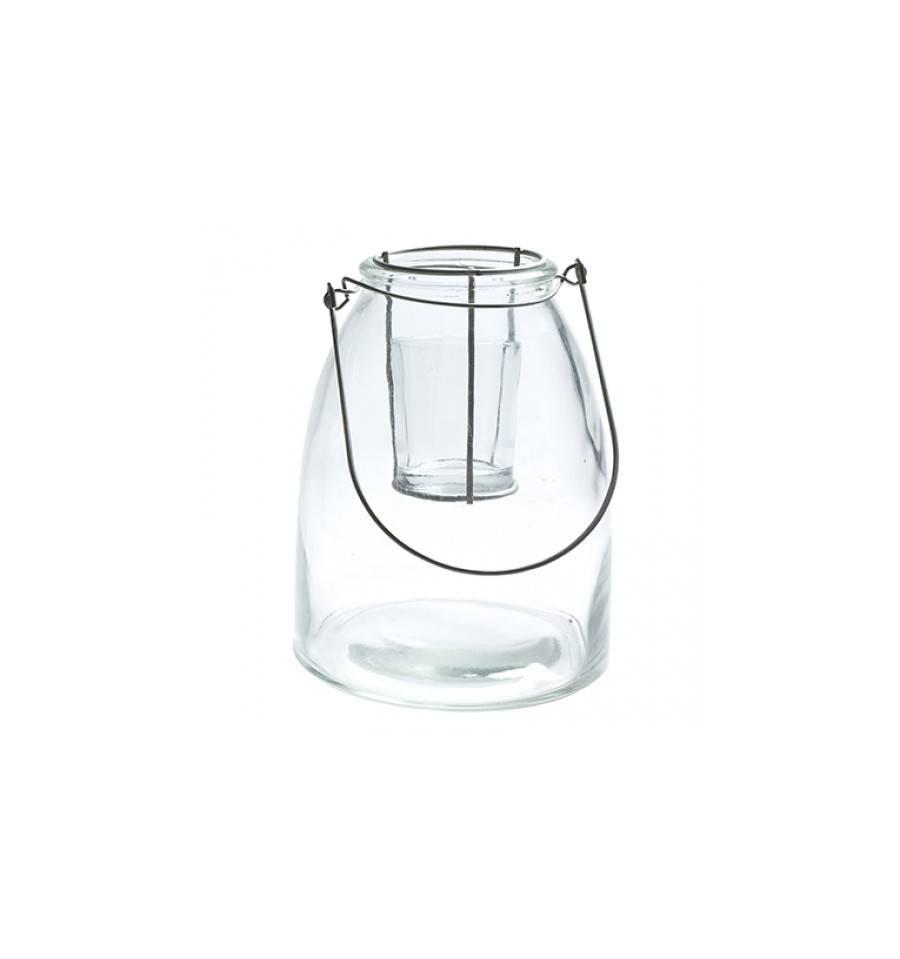 Laterne aus glas roan xl Laterne aus glas