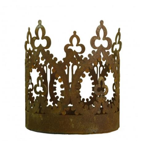 """""""Crown"""" Krone mit Boden zum Stellen und Aufhängen Ø 17cm"""