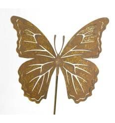 """Schmetterlingstecker """"Farfalla"""" 20 cm groß mit langem Stecker 1 Meter"""