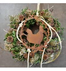 Fruhling Ostern In Edelrost Trendige Rost Gartendekoration Fur