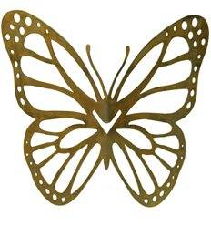 """Schmetterling für Vasen mit Ausschnitten """"Mariposa"""" - Höhe 18 cm - Breite 26 cm"""