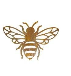 Bienenhänger mit Ausschnitten - Breite 16 cm - Höhe 11 cm