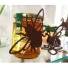 Honig verschenken mit einer Biene Metall als Geschenkidee für Imker