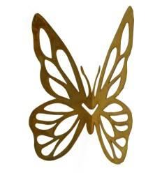 """Schmetterling für Vasen mit Ausschnitten """"Mariposa"""" - H 17 cm - B 17 cm"""