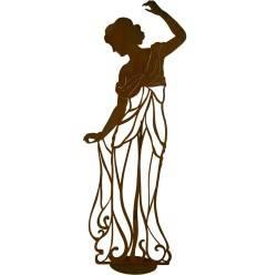 """Rankhilfe """"Signorina graziös"""" auf Platte - Höhe 86 cm"""