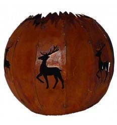 Gartenstecker Edelrost Fuchs 59 x 29 cm Rost Deko