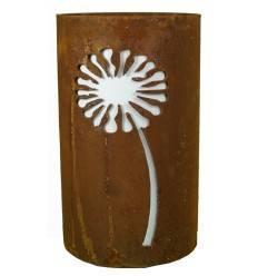 Windlicht Pusteblume Höhe 25 cm, Durchmesser 15 cm, zum Beleuchten mit Kerzen