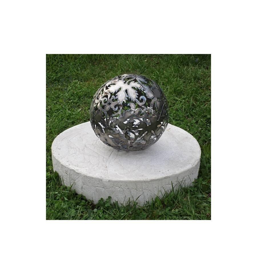 metall ei jedes st ck ein handgearbeites unikat h he 67 cm metallmichl. Black Bedroom Furniture Sets. Home Design Ideas