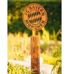 FC BAYERN HOLZSTÄNDER, 131 cm hoch