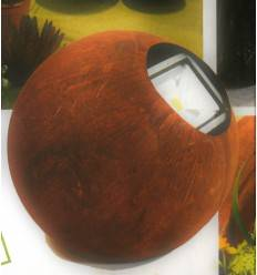 Rostkugel 40 cm für Strahler