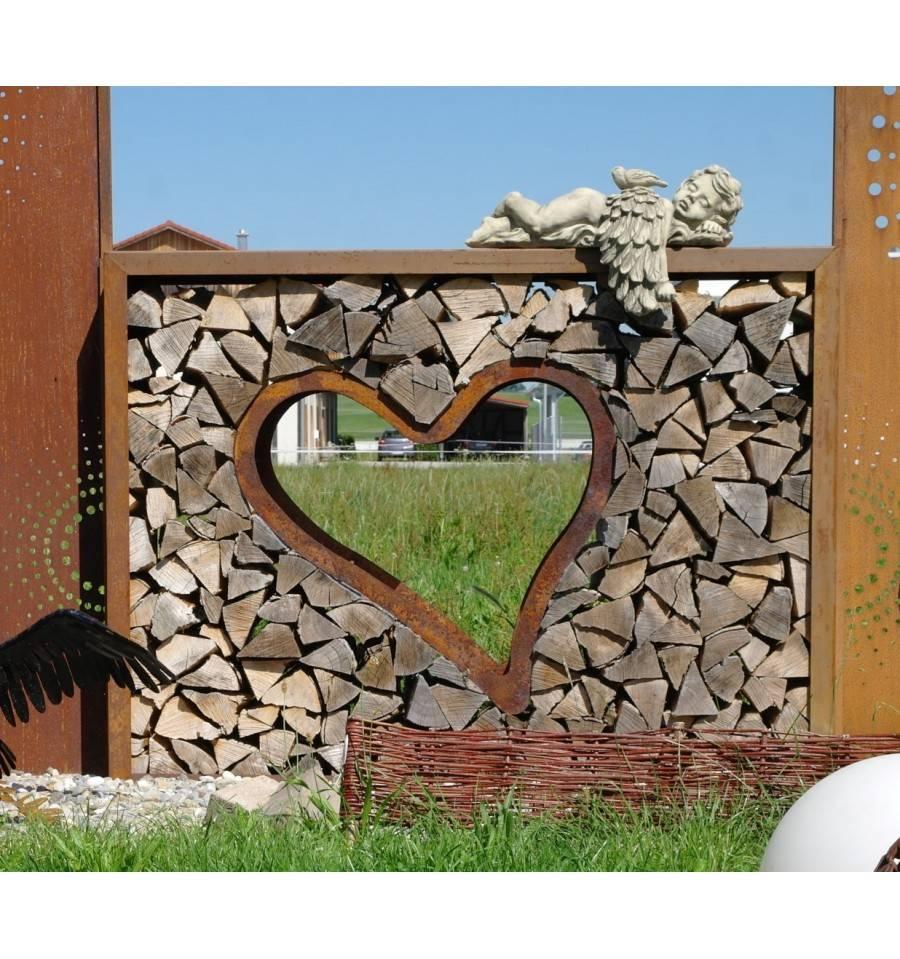 Holzlege Rechteck Mittel Breit Hohe 160 Cm Breite 120 Cm