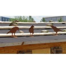 Vogel Deko Aus Rostigem Metall Tolle Dekorationen Mit Vogel Motiv
