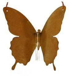 """Schmetterling """"Mariposa"""" zum Hängen mit Reagenzglas-Halter - Höhe 20 cm - Breite 26 cm"""