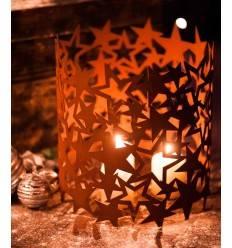 Windlicht Sternenregen, 30 cm hoch, Ø 28 cm