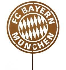 FC BAYERN Gartenstecker Ø 40 cm mit LOGO