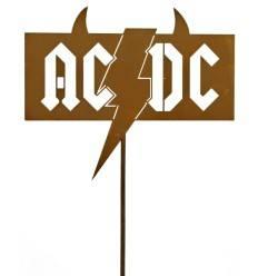 Gartenstecker  ACDC Fanartikel |  Gesamthöhe 107 cm
