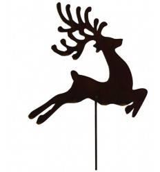 Hirsch 'Paul' auf Stab, Höhe 125 cm