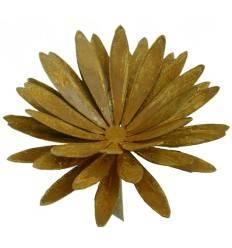 Chrysantheme Ø 25cm als Teelichthalter ohne Platte