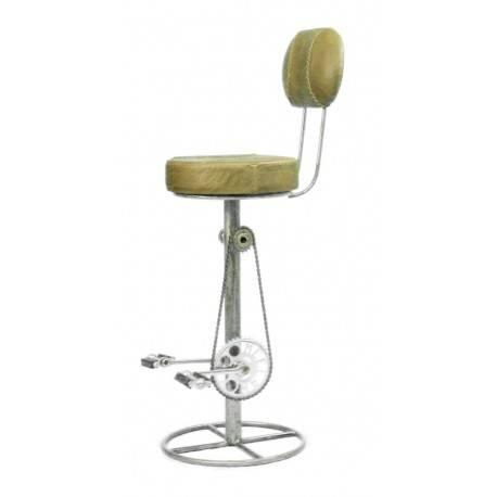 barhocker mit pedal fu st tze und lehne design barhocker. Black Bedroom Furniture Sets. Home Design Ideas