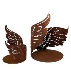 Flügelchen Halbrund auf Platte Ø 22 cm