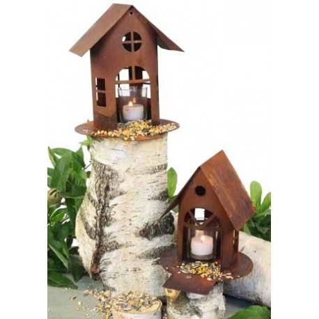 Vogelhaus mit steg gr 1 metallmichl for Wohndesign sera
