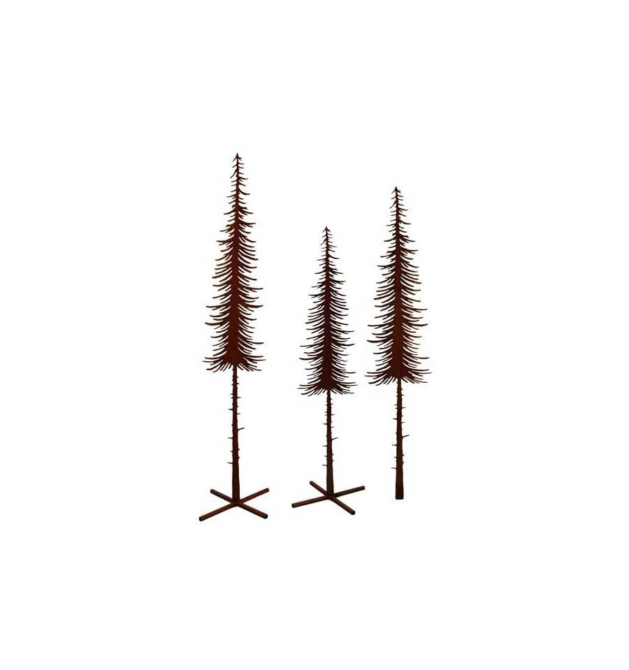 edelrost baumst nder gro 50 x 50 cm rostdeko vom metallmichl. Black Bedroom Furniture Sets. Home Design Ideas