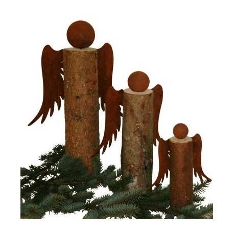 Engelsflügel Bastelset - Gr. 1 - Höhe 20 cm - zum Holzengel basteln 3-teilig