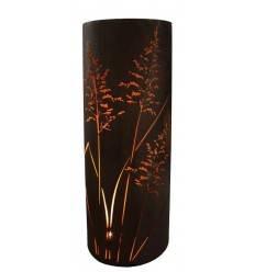 Gras Säule 160 cm hoch halbrund 65 cm